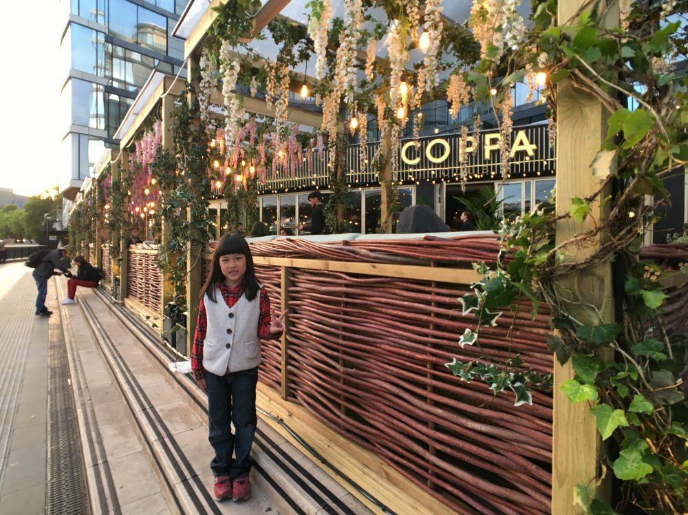 [英國倫敦餐廳]泰晤士河畔Coppa Club 食物好吃 CP值高 適合和朋友或家人用餐