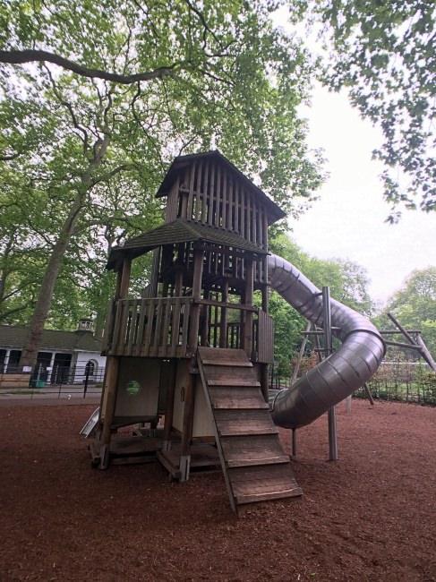 [英國倫敦親子旅遊]Coram's Field兒童公園,免費又超好玩