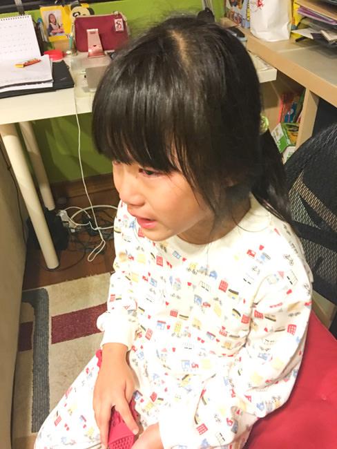 [朱寶6Y7M]朱寶哭了 因為她把圖書館的書弄不見了