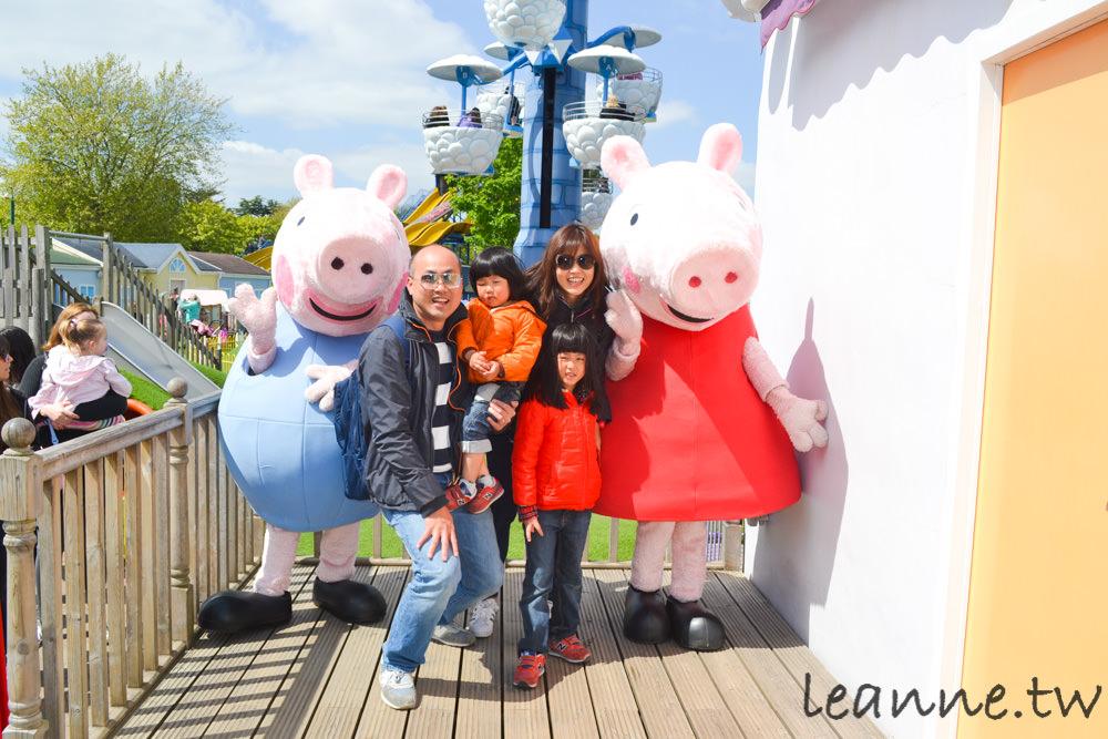 [英國親子景點]帶孩子去佩佩豬樂園Peppa Pig World找佩琪與喬治 英國Paultons Park怎麼去怎麼玩