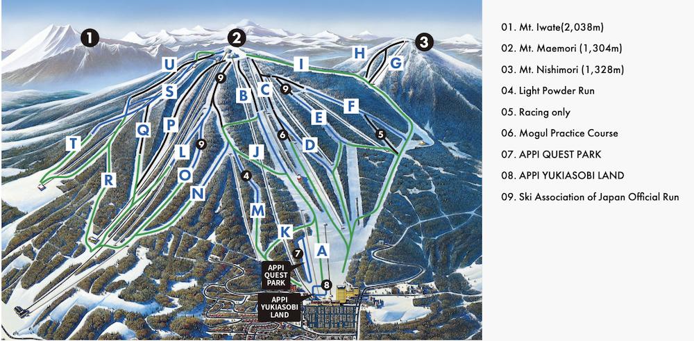 appi slope map